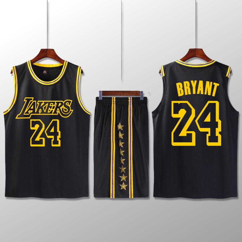 Bộ quần áo bóng rổ Kobe - Đen