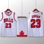 Bộ quần áo bóng rổ Jordan - Trắng