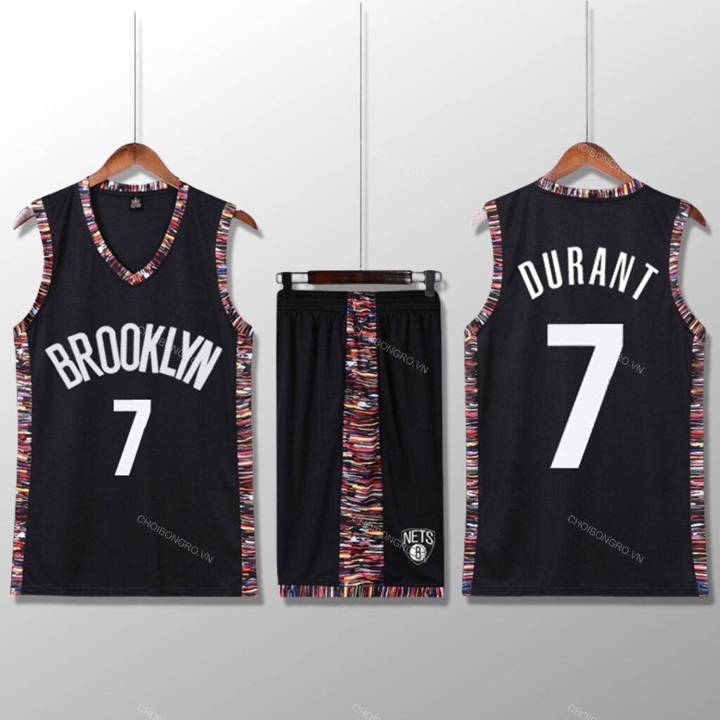 Bộ quần áo bóng rổ KD - City Editions Đen