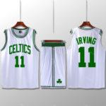 Bộ quần áo bóng rổ Kyrie Celtics - Trắng